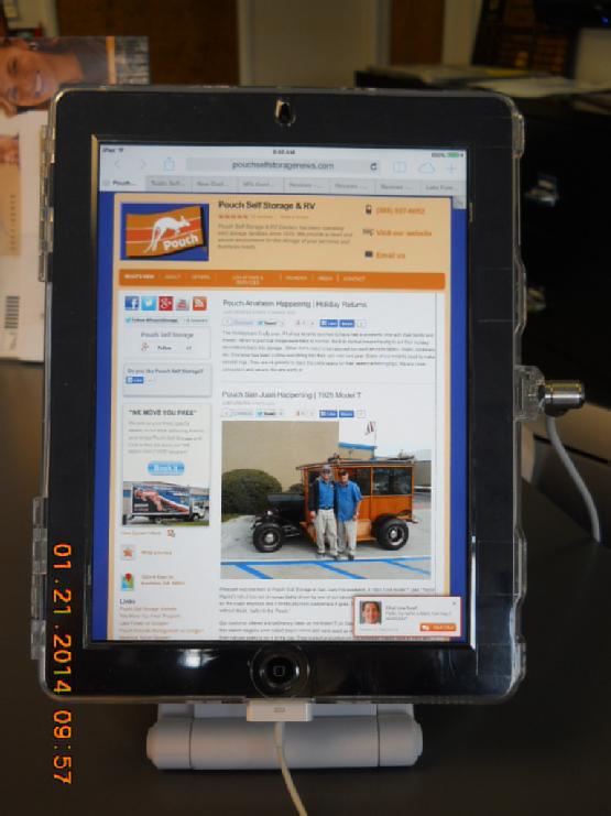 iPad Trabuco